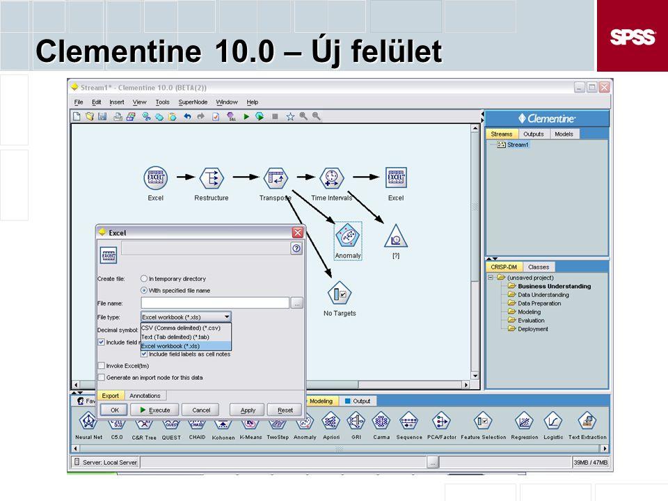Clementine 10.0 – Új felület