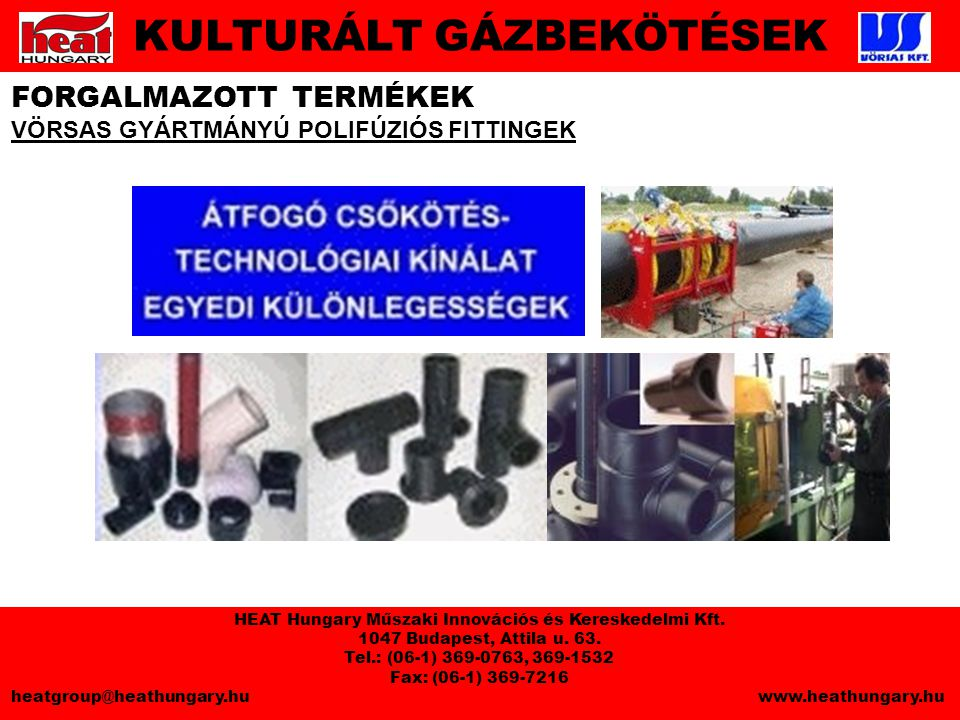 HEAT Hungary Műszaki Innovációs és Kereskedelmi Kft.