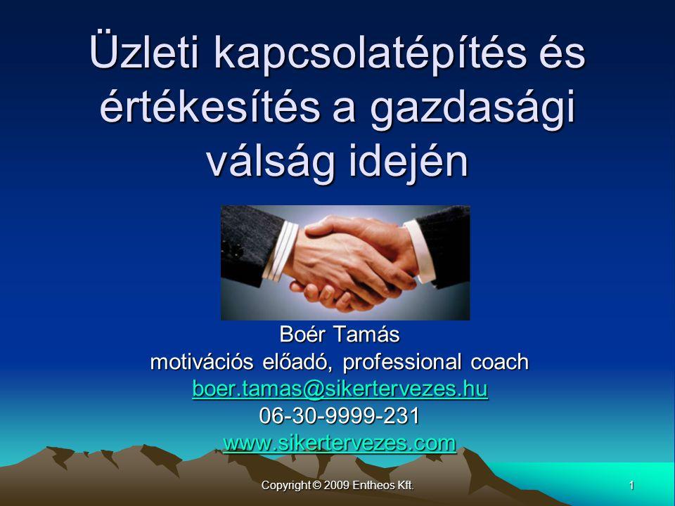 Üzleti kapcsolatépítés és értékesítés a gazdasági válság idején