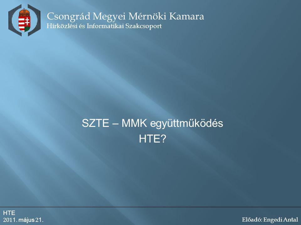 SZTE – MMK együttműködés