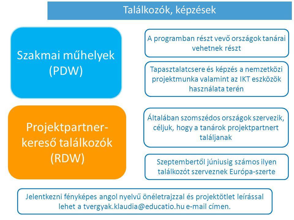 Szakmai műhelyek (PDW)
