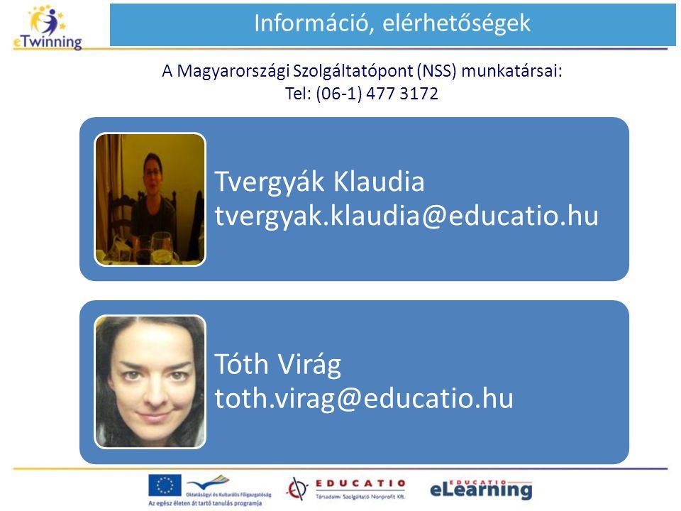 Információ, elérhetőségek