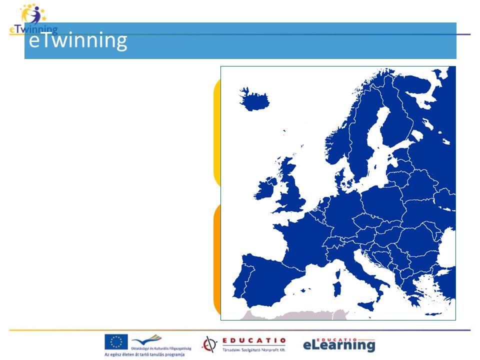 eTwinning Legalább két európai ország legalább két közoktatási intézménye (iskolája vagy óvodája) közötti hosszú vagy rövid távú együttműködés.