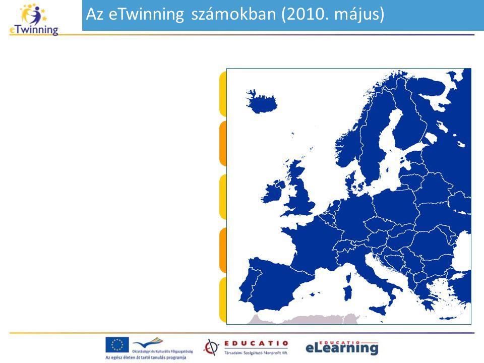 Az eTwinning számokban (2010. május)