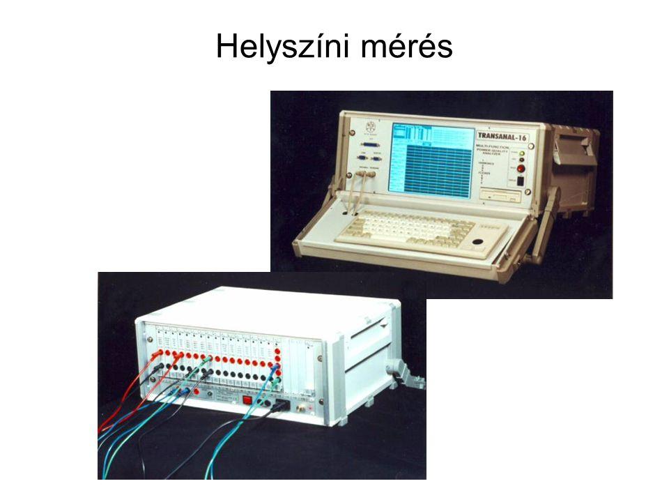 Helyszíni mérés