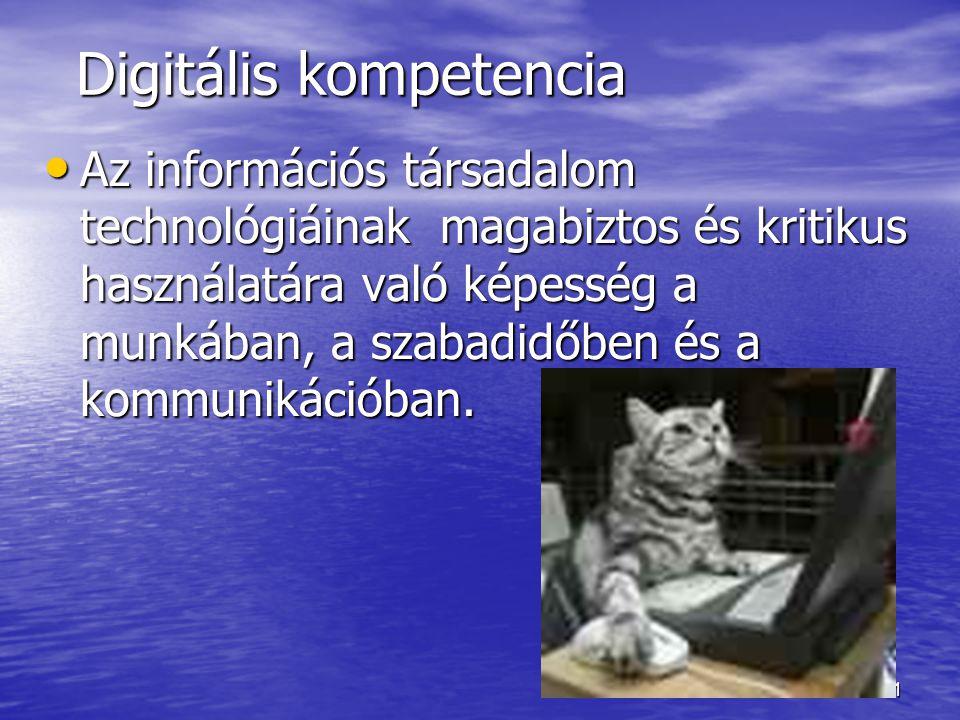 Digitális kompetencia