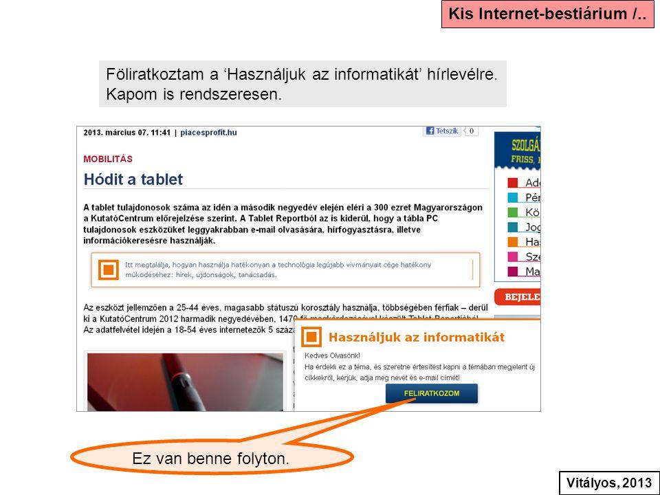 Kis Internet-bestiárium /..
