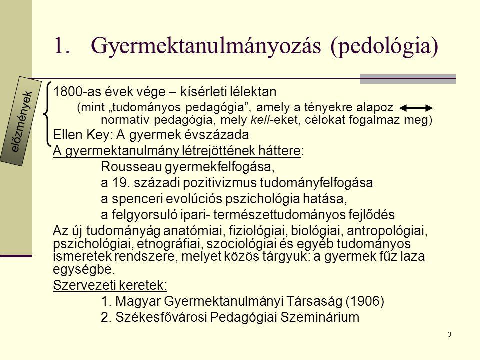 Gyermektanulmányozás (pedológia)