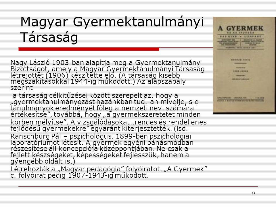 Magyar Gyermektanulmányi Társaság