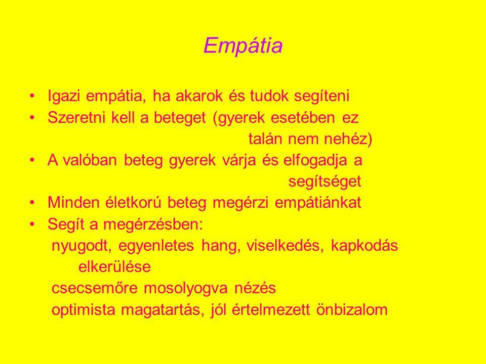 Empátia Igazi empátia, ha akarok és tudok segíteni