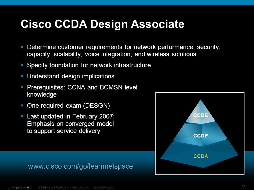 Cisco CCDA Design Associate