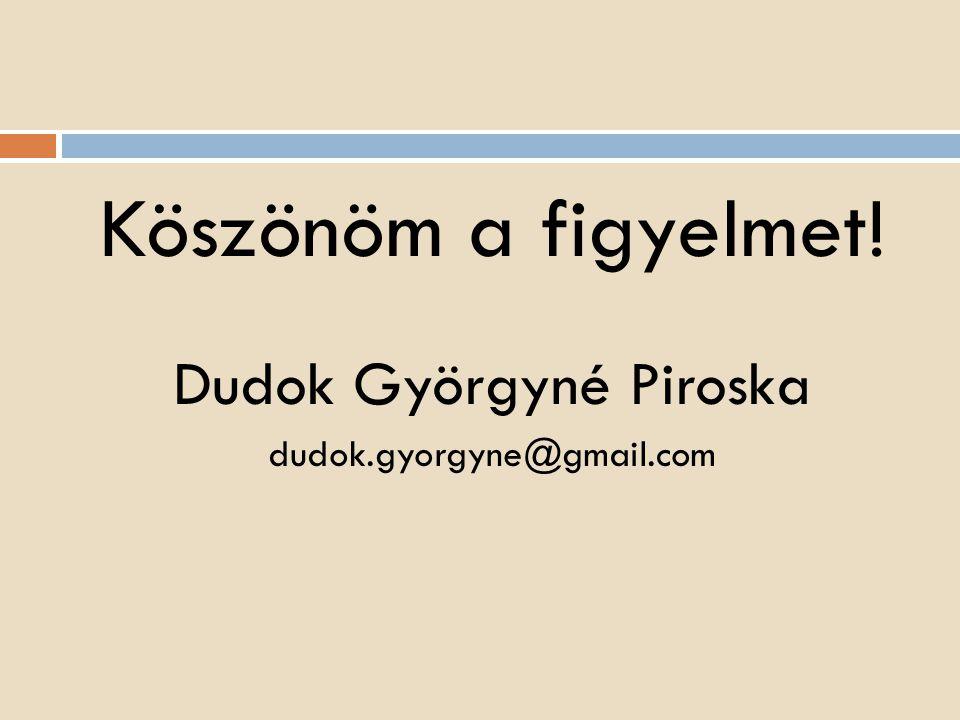 Dudok Györgyné Piroska