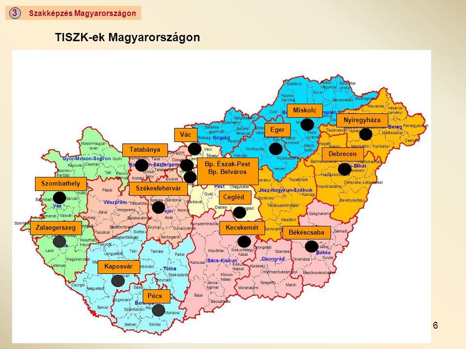 TISZK-ek Magyarországon