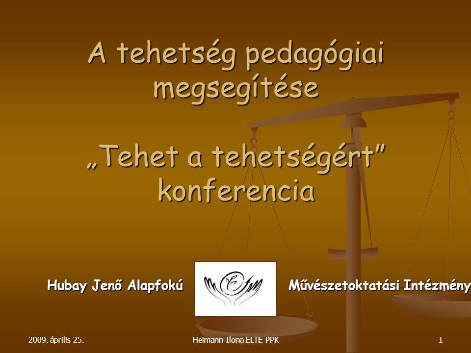 """A tehetség pedagógiai megsegítése """"Tehet a tehetségért konferencia"""