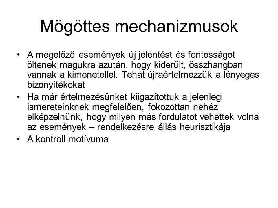 Mögöttes mechanizmusok
