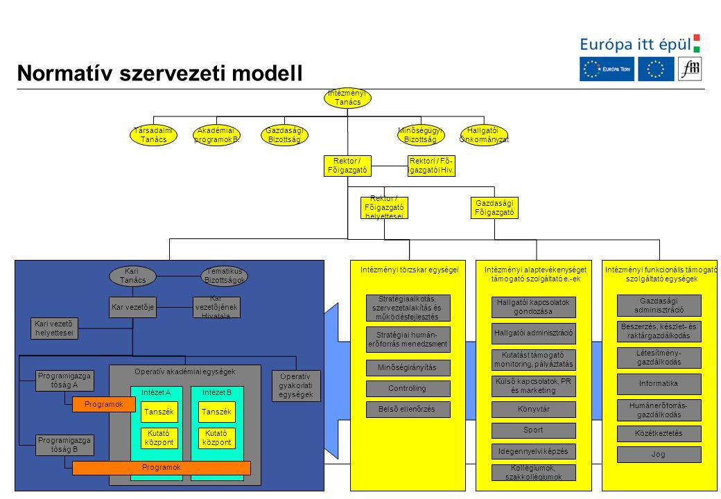 Normatív szervezeti modell