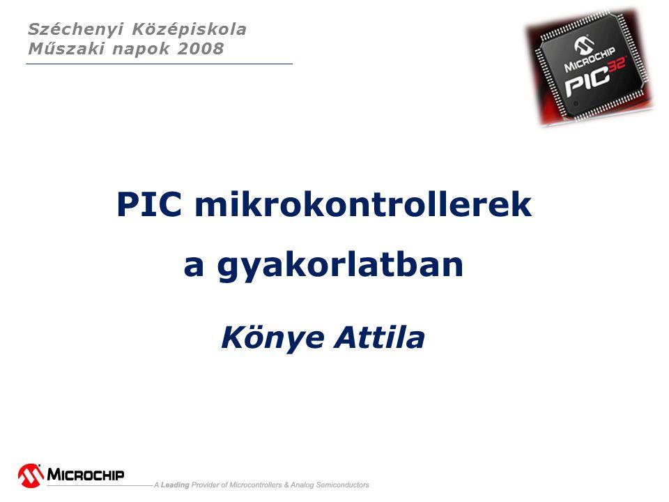 PIC mikrokontrollerek