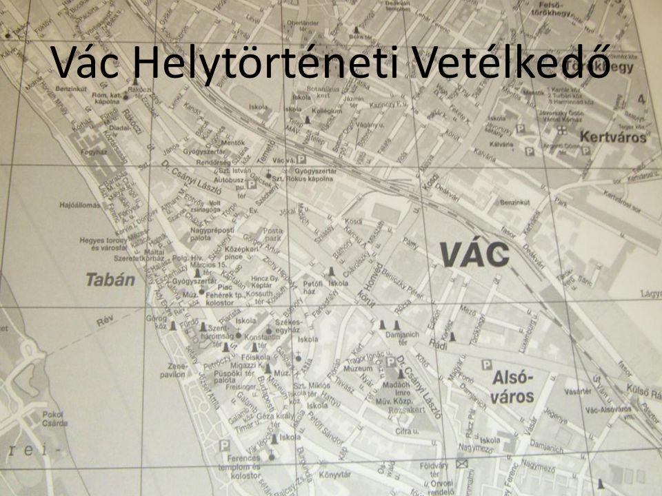 Vác Helytörténeti Vetélkedő