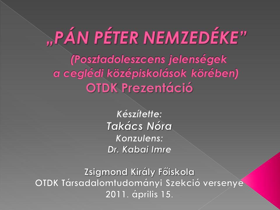 Zsigmond Király Főiskola OTDK Társadalomtudományi Szekció versenye