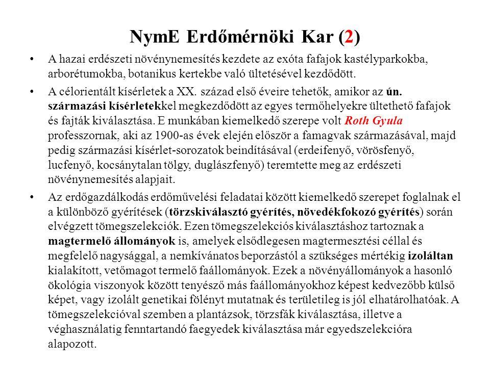 NymE Erdőmérnöki Kar (2)