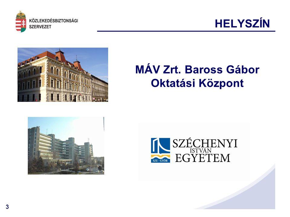 MÁV Zrt. Baross Gábor Oktatási Központ