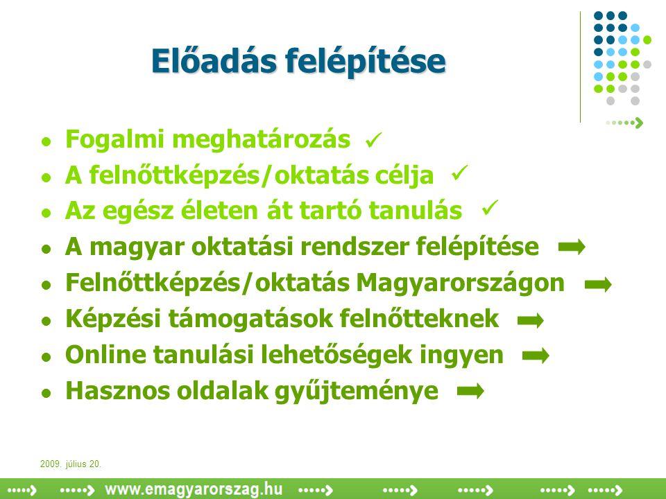 A magyar oktatási rendszer