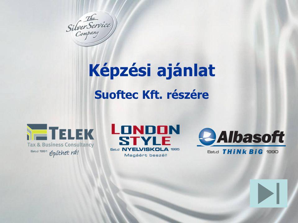 Képzési ajánlat Suoftec Kft. részére