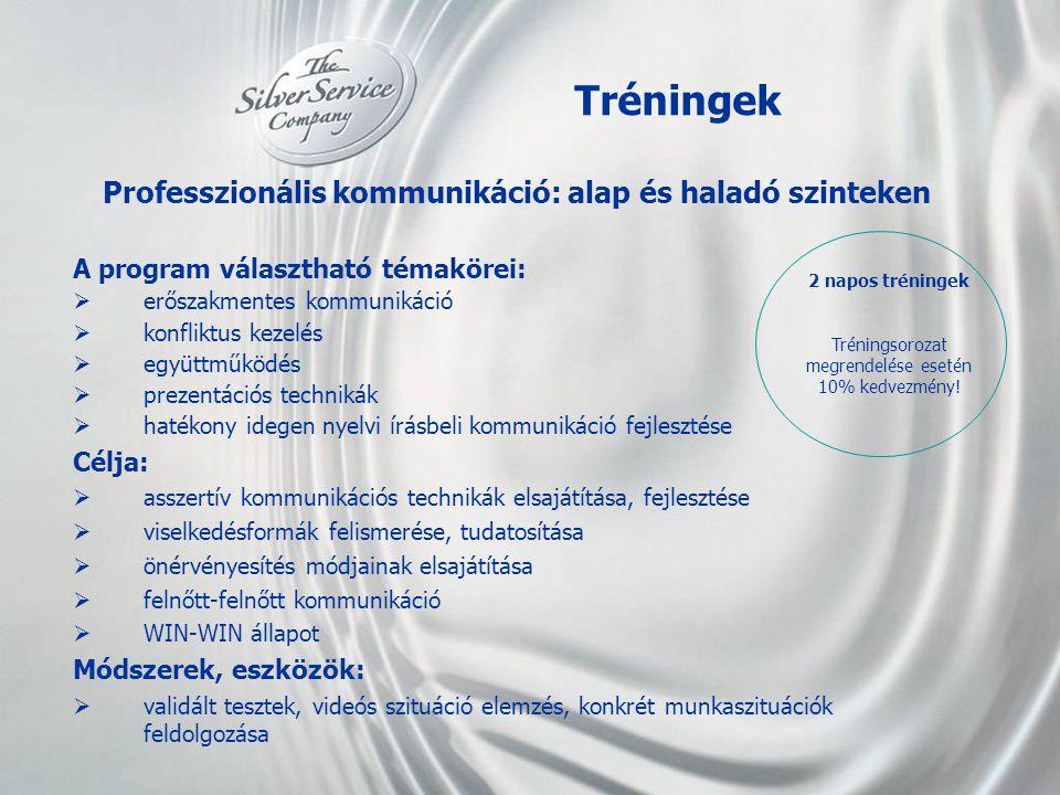 Professzionális kommunikáció: alap és haladó szinteken