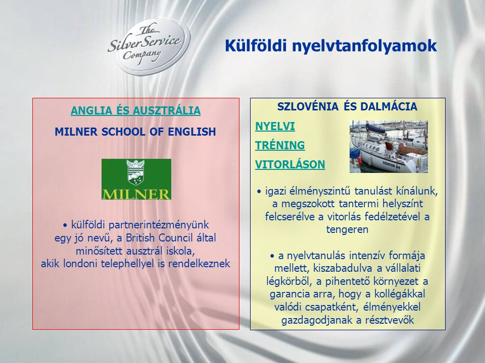 Külföldi nyelvtanfolyamok