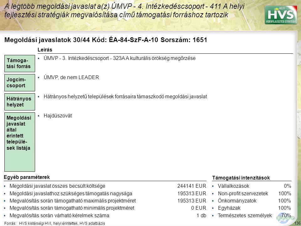 Megoldási javaslatok 31/44 Kód: ÉA-84-SzF-A-12 Sorszám: 1758