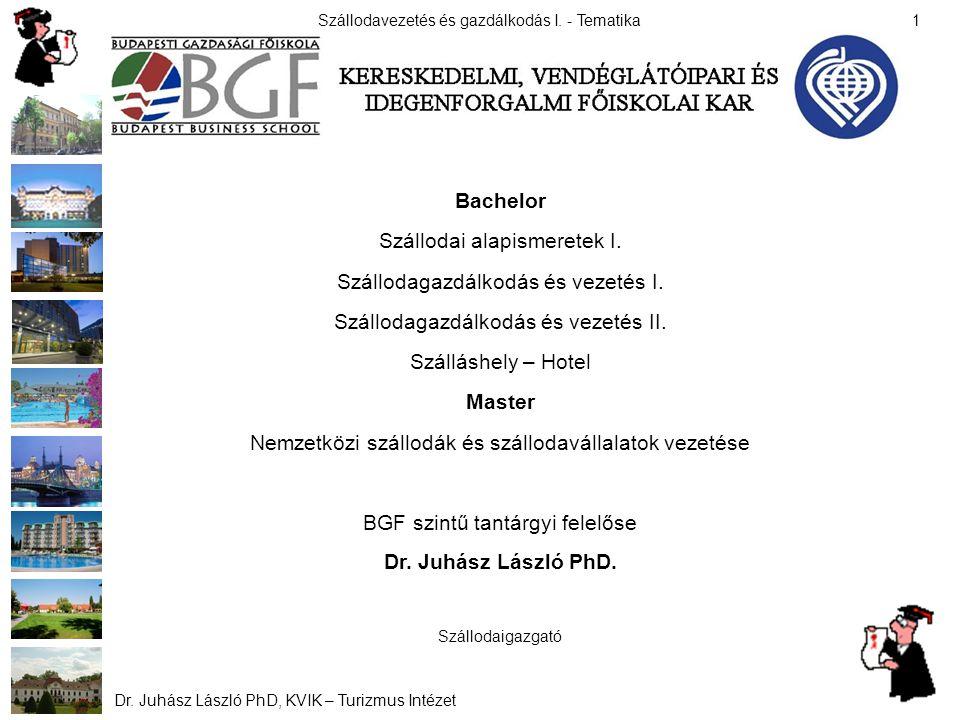 Bachelor Master Dr. Juhász László PhD.