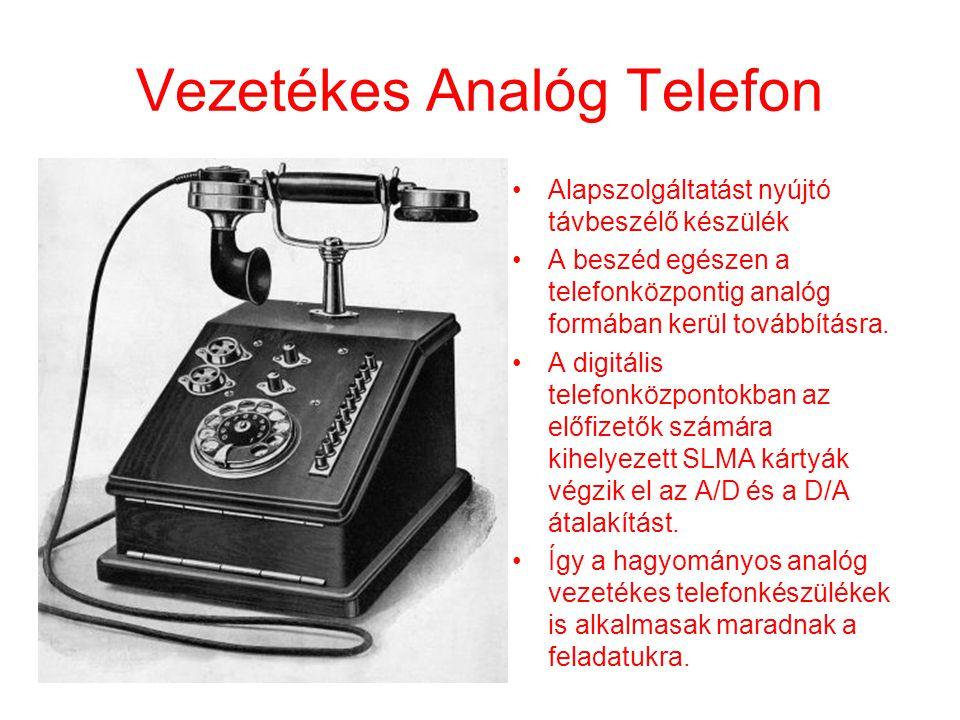 Vezetékes Analóg Telefon
