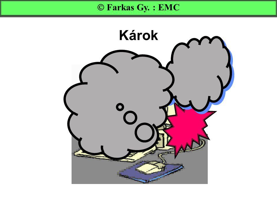  Farkas Gy. : EMC Károk