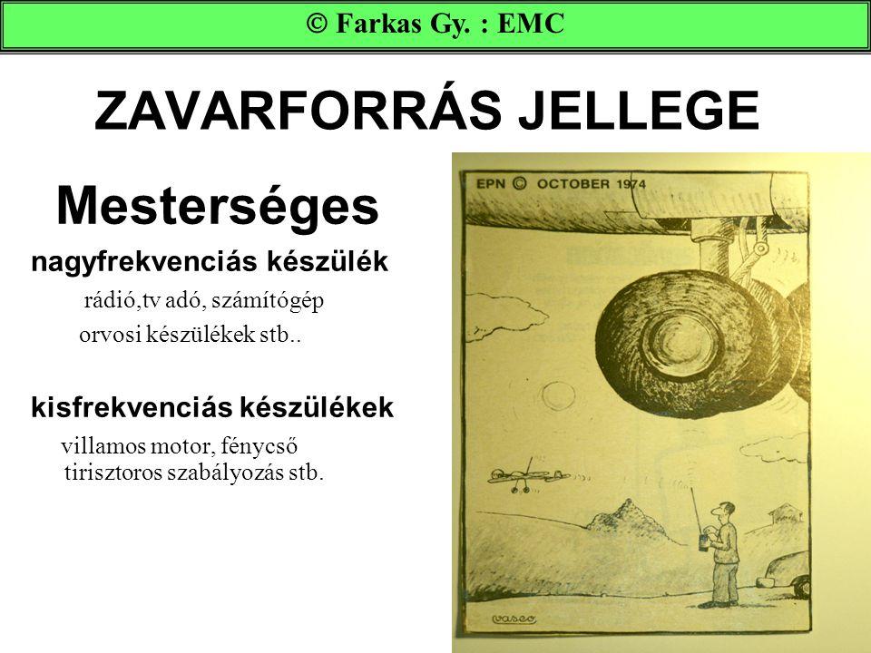ZAVARFORRÁS JELLEGE Mesterséges