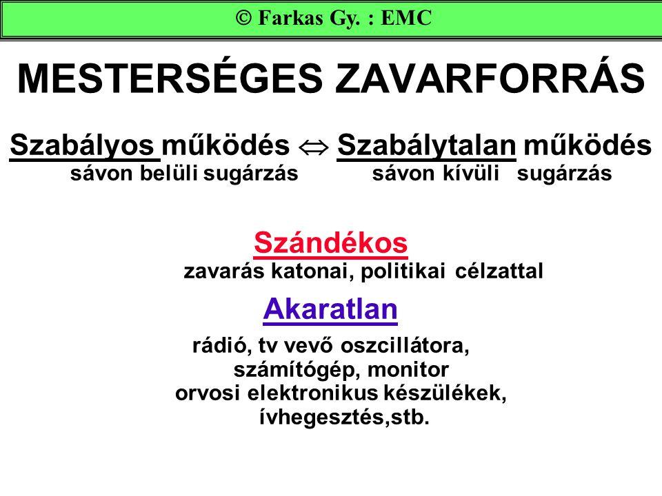 MESTERSÉGES ZAVARFORRÁS