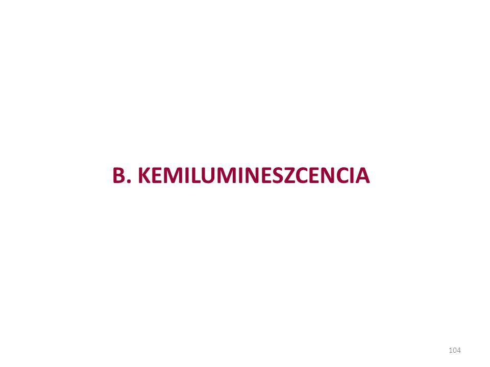 B. KEMILUMINESZCENCIA 104