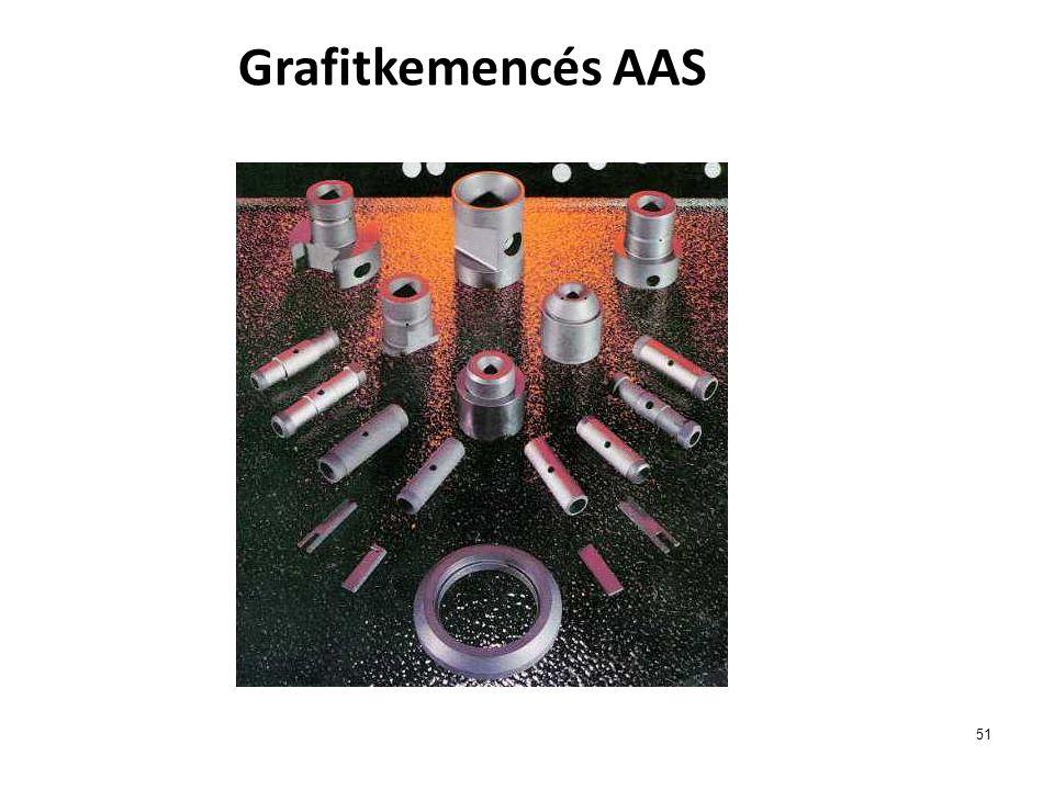 Grafitkemencés AAS 51