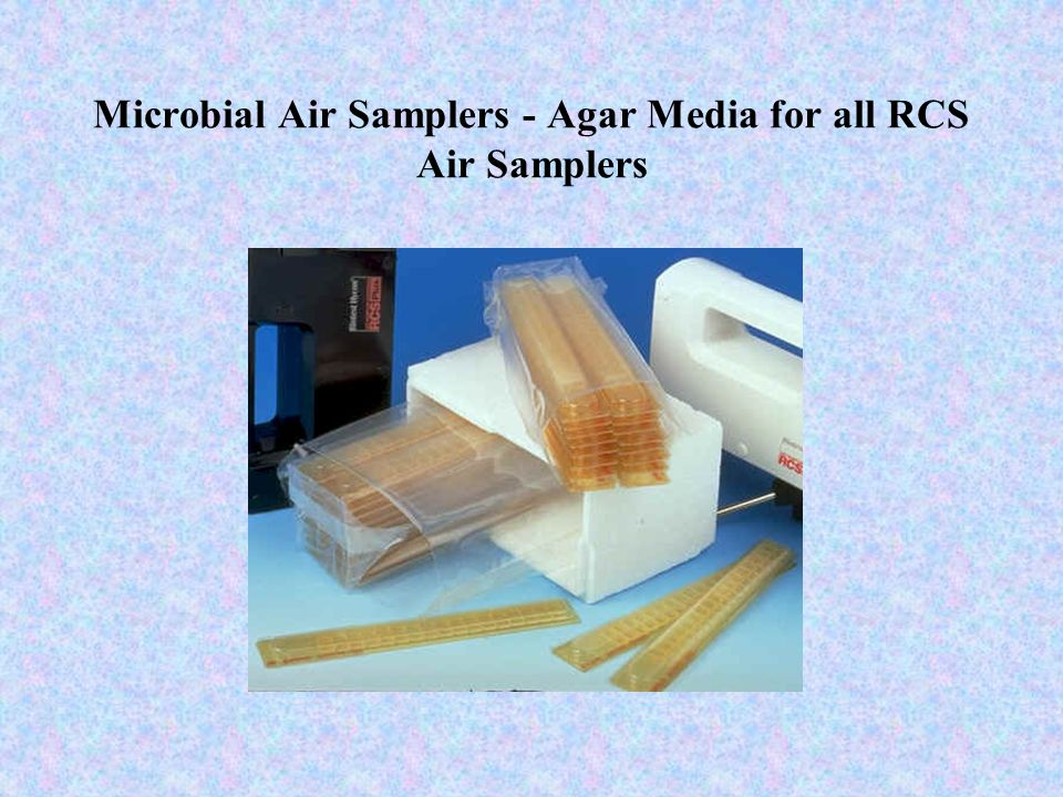 Microbial Air Samplers - Agar Media for all RCS Air Samplers