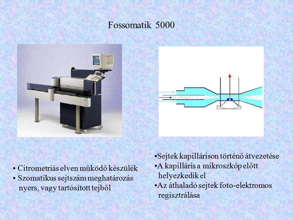 Fossomatik 5000 Sejtek kapillárison történő átvezetése