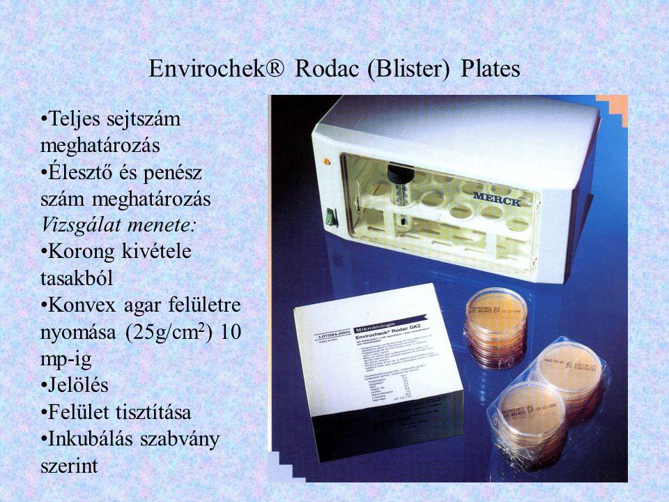 Envirochek® Rodac (Blister) Plates