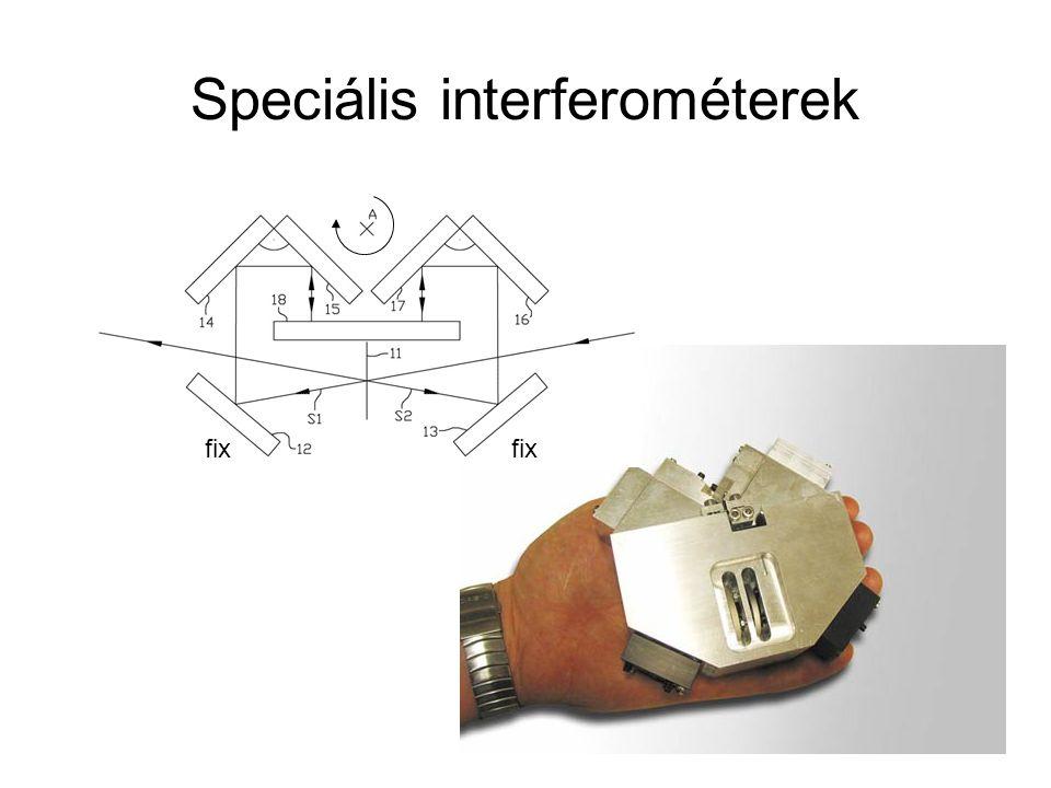 Speciális interferométerek