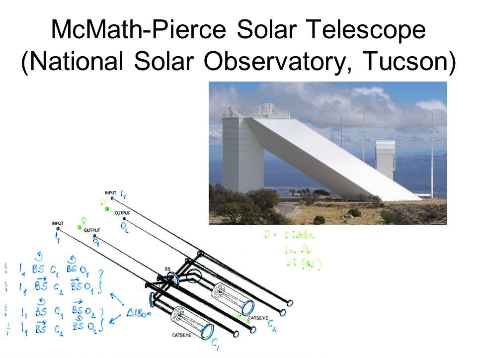 McMath-Pierce Solar Telescope (National Solar Observatory, Tucson)