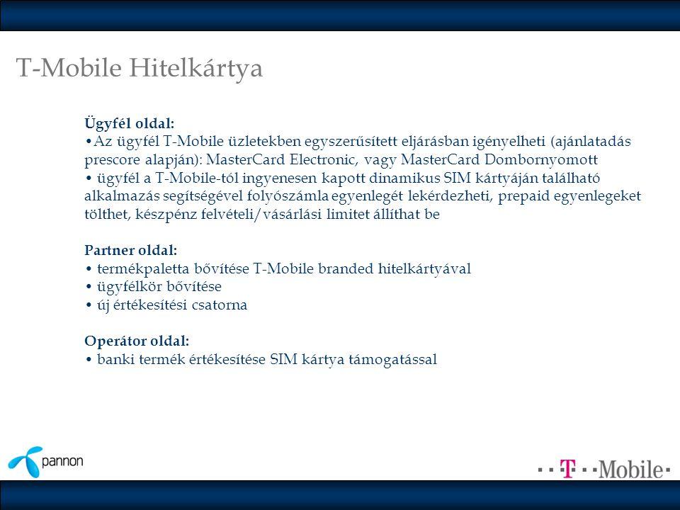 T-Mobile Hitelkártya Ügyfél oldal: