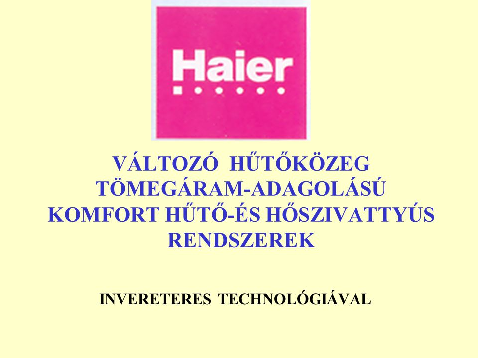INVERETERES TECHNOLÓGIÁVAL