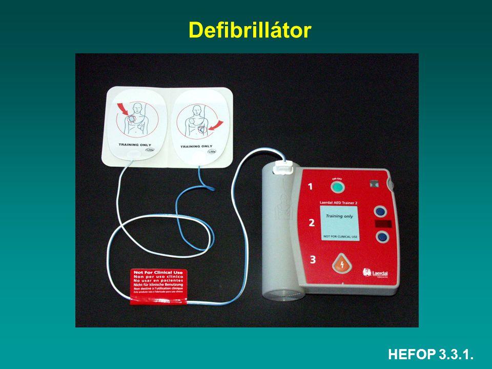 Defibrillátor HEFOP 3.3.1.