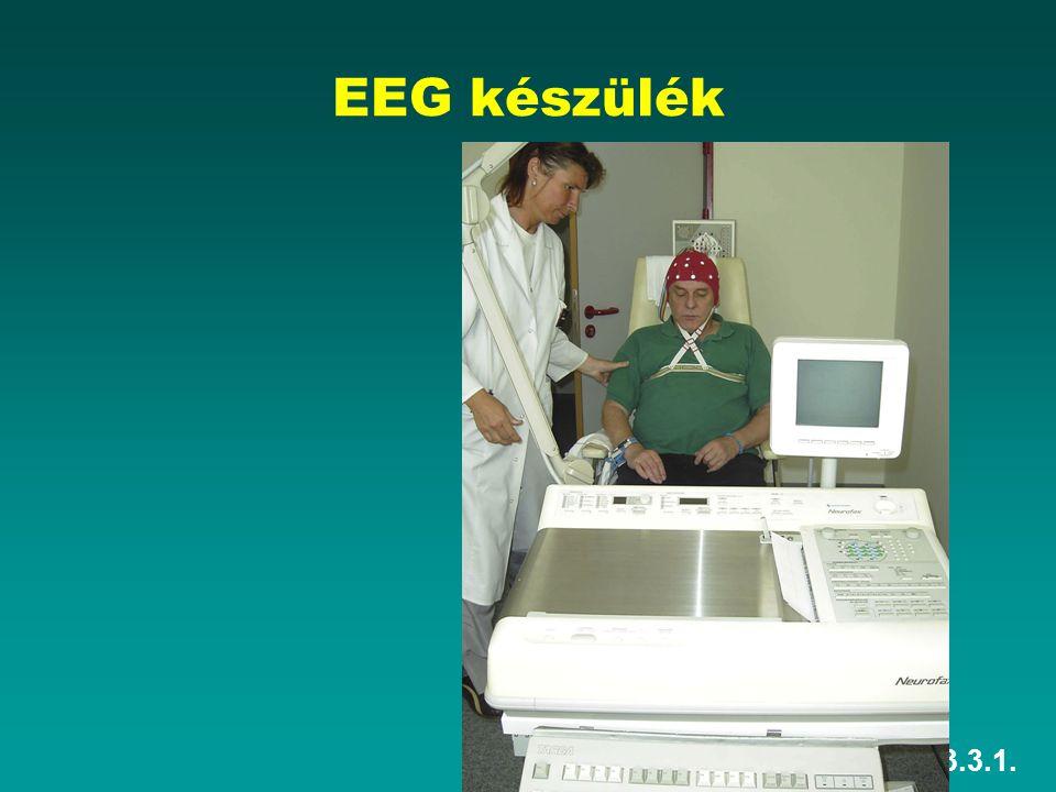EEG készülék HEFOP 3.3.1.