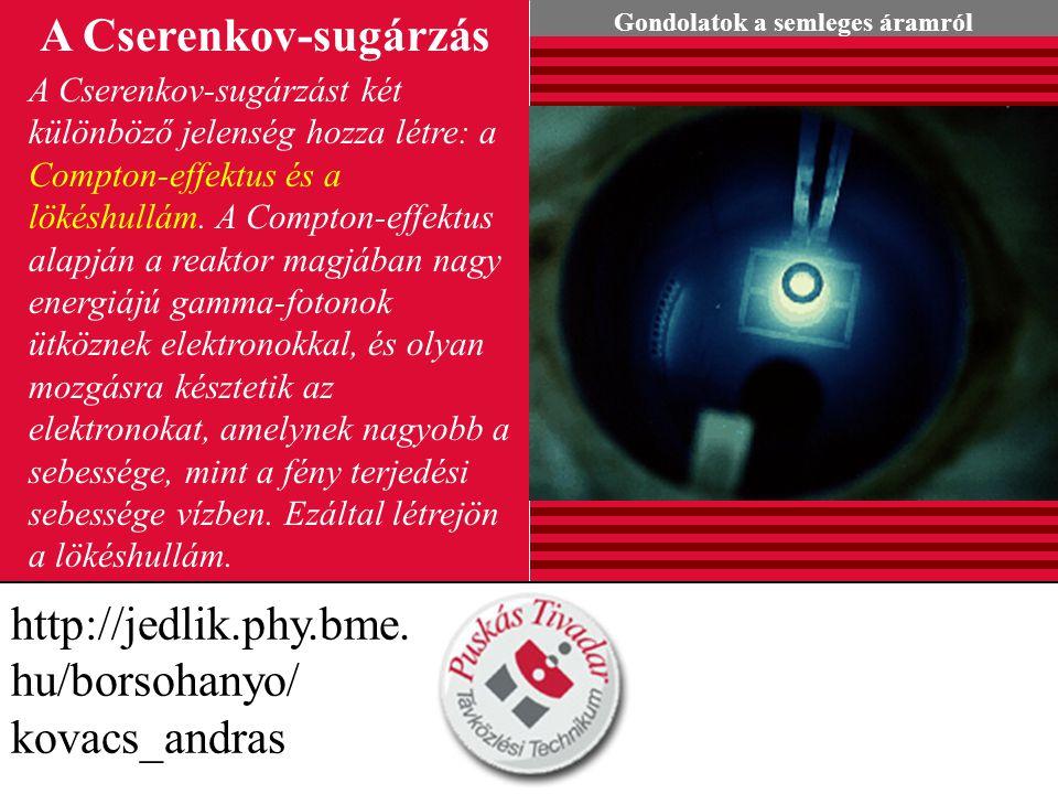 A Cserenkov-sugárzás