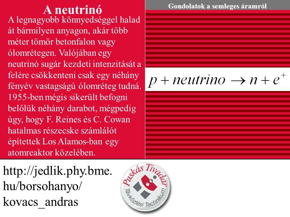 A neutrinó