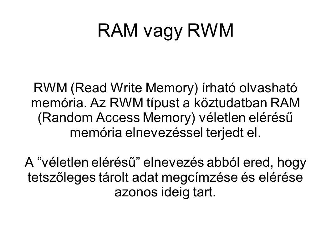 RAM vagy RWM
