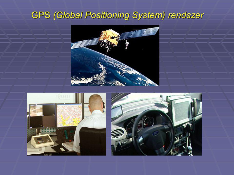 GPS (Global Positioning System) rendszer